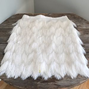 S/S 2019  Is all about  FRINGE Vince Camuto Skirt